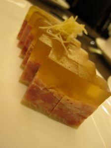 Jiangsu speciality pork & aspic.