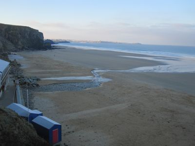 Morning on Watergate Bay